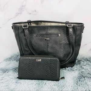 Thirty-One Jewell Townsfair Reversible Tote & All About The Benjamin's Wallet